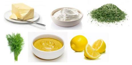 Ingrédients-cabillaud-rapde-sauce poisson
