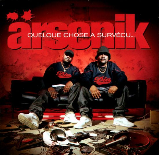 Arsenik - Quelque chose a survecu Pochette CD