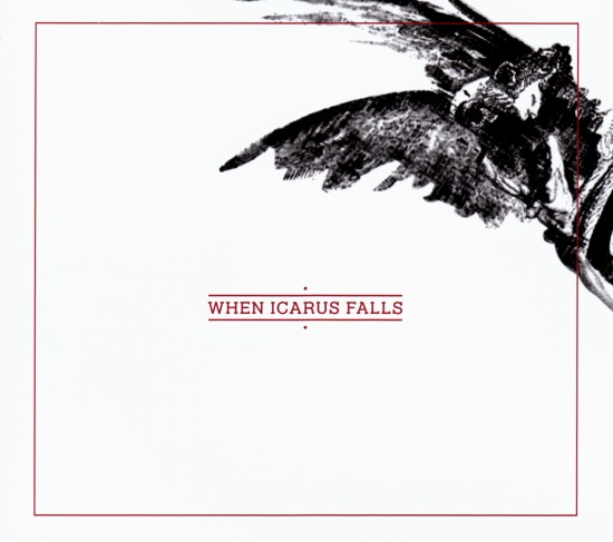 When Icarus Falls - Over The Frozen Seas - Front