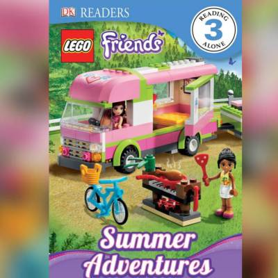 DK Readers, Lego Friends, Summer Adventures book
