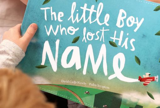 Book - The Little Boy Who Lost His Name