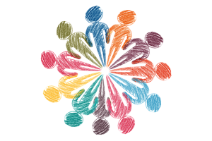 diagram of people in a circle for adoptionhubuk website