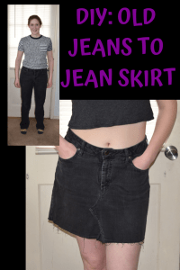 a5d2f454ae A jean skirt is a wardrobe staple. It's a classic piece that can pair with  anything. I've wanted one ever since middle school, ...