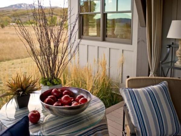 A Very Cozy Veranda Adorable Home