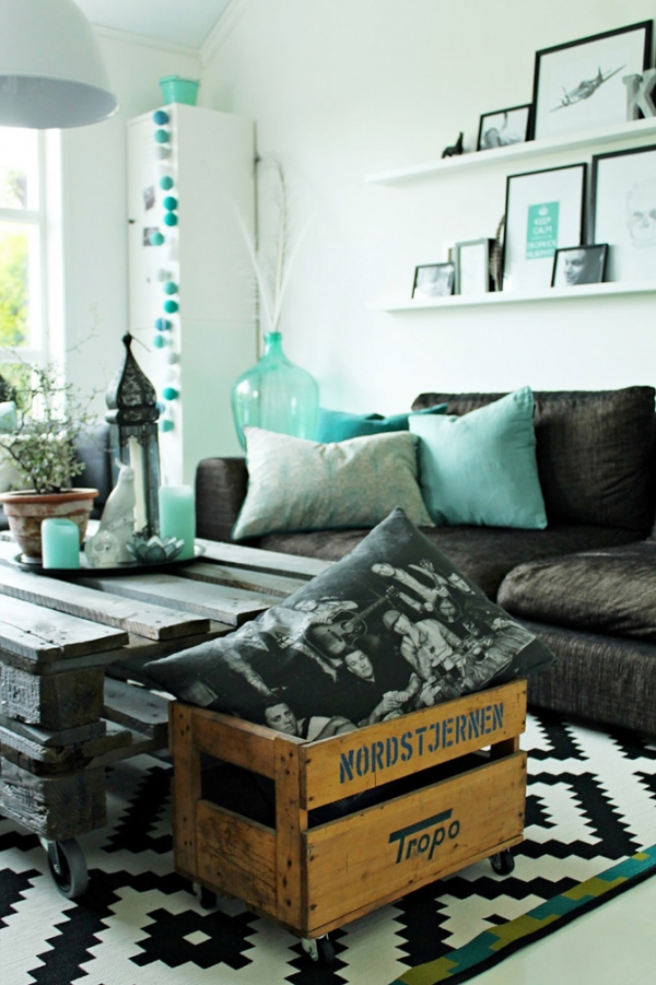 Living Room Decorating Ideas Turquoise