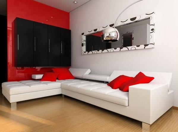 Living Room Decor Red And White Centerfieldbarcom