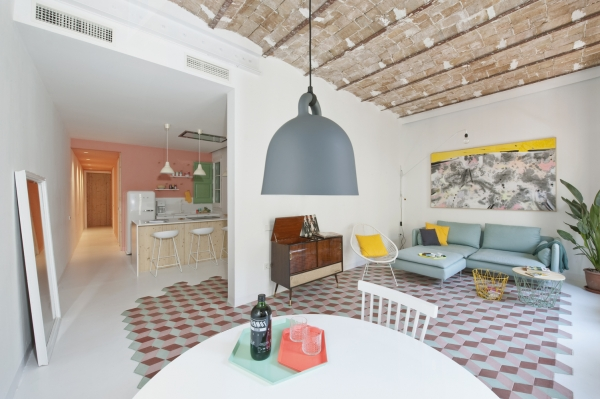 Pastel Interiors And A Romance With The Past