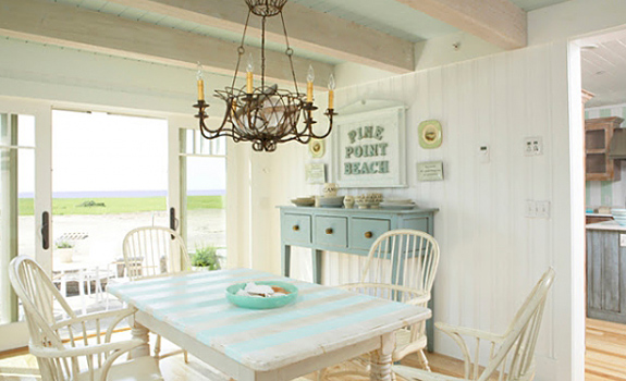Beautiful Beach House With A Light Color Scheme Adorable