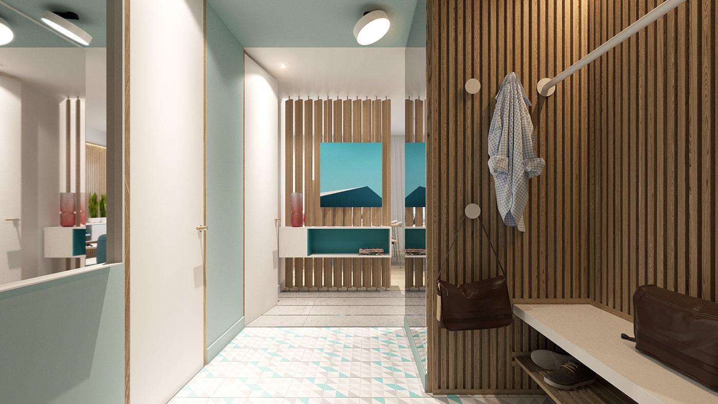 Colorful Modern Apartment D 233 Cor Adorable Home