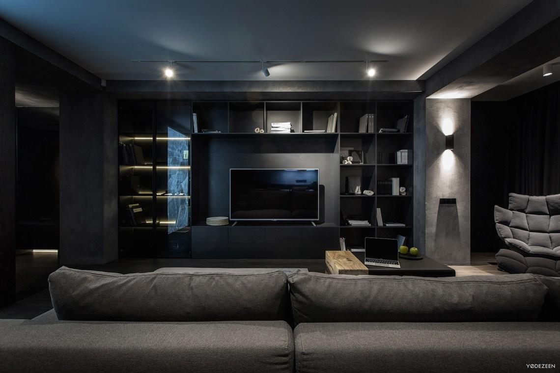 Exquisite Modern Dark Interiors - Adorable Home