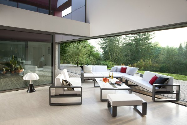 contemporary patio furniture A Puzzle of Contemporary Outdoor Furniture – Adorable Home