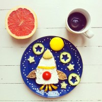 Instagram food art