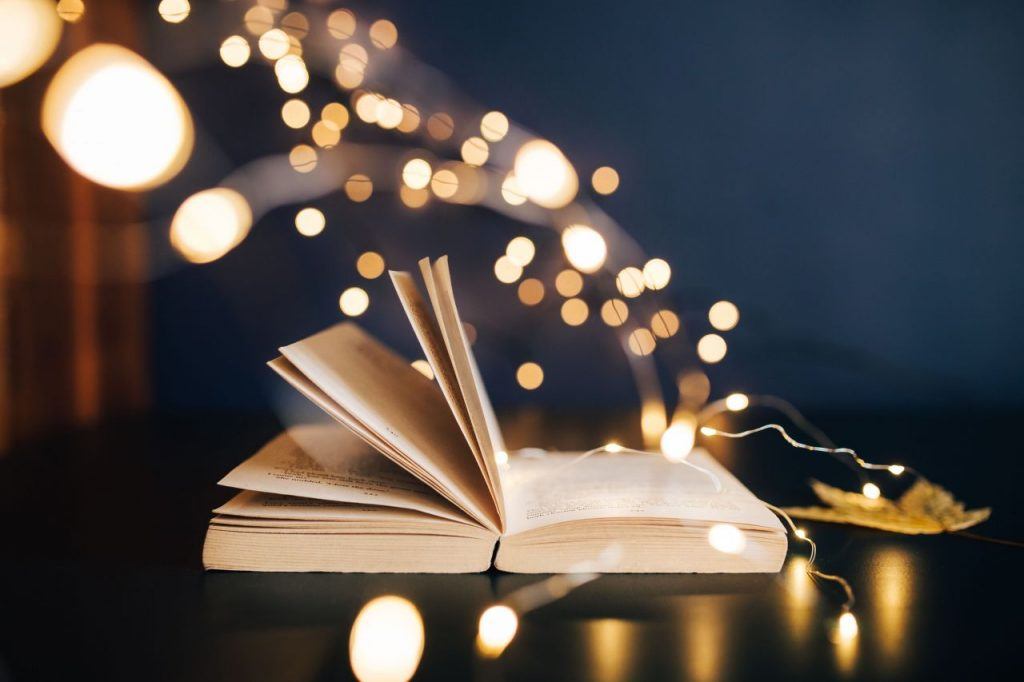 Book fairy light
