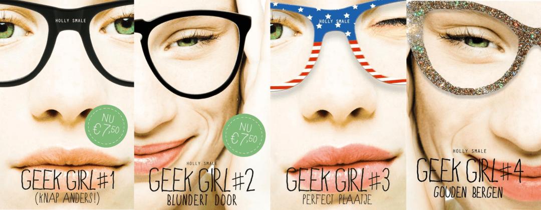 Volgorde van de Geek Girl boeken Holly Smale 1