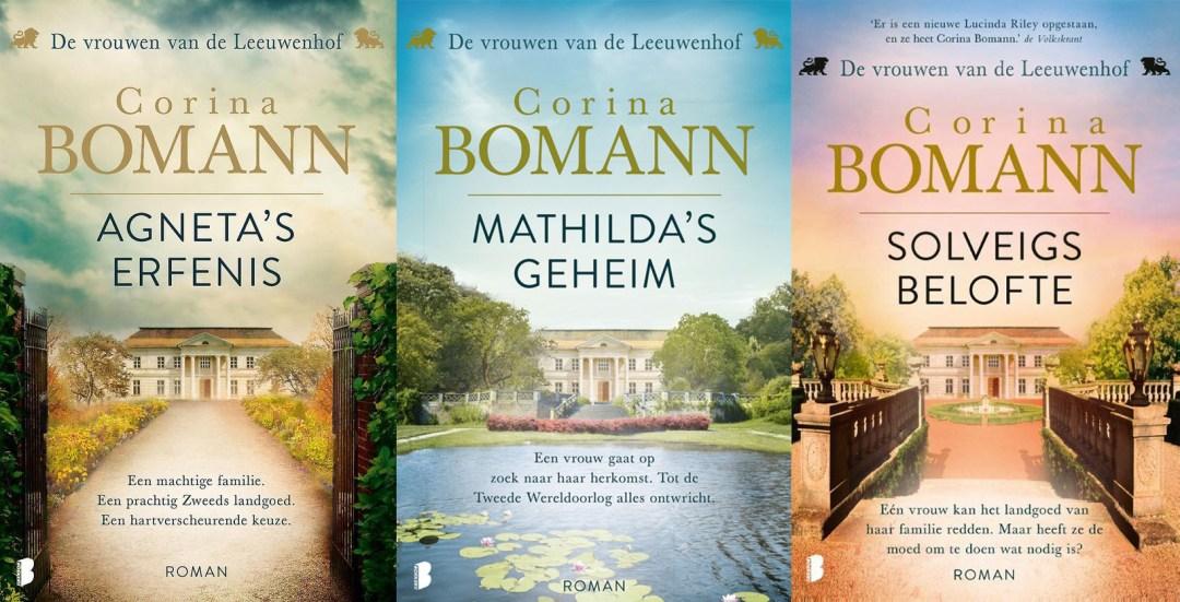 Volgorde van De vrouwen van de Leeuwenhof boeken