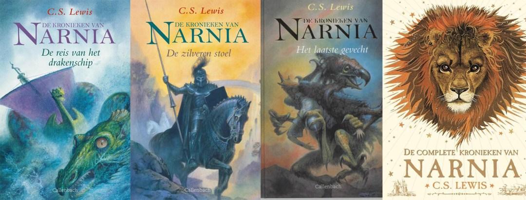 volgorde van de Narnia boeken