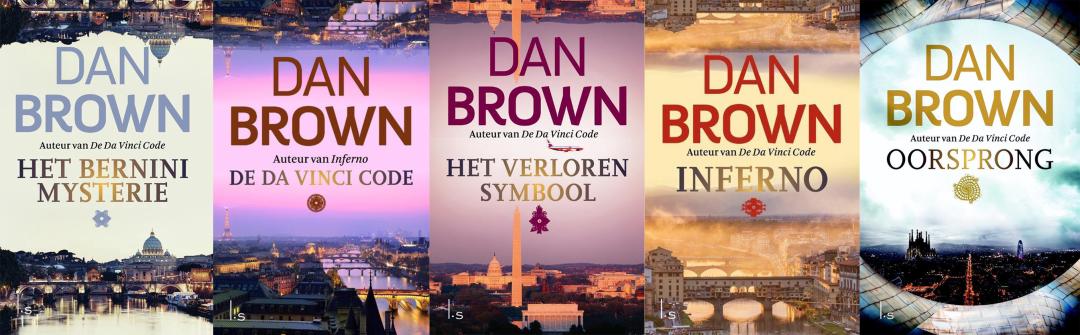 Volgorde van de Robert Langdon serie van Dan Brown