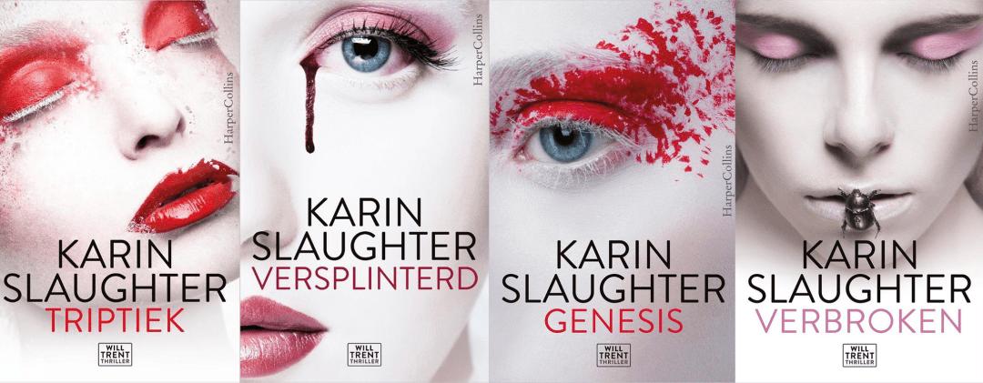 Volgorde van de Will Trent serie van Karin Slaughter