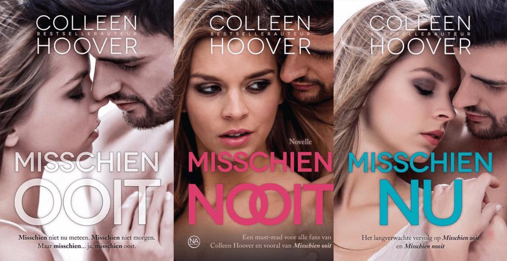 Dit zijn alle boeken van Colleen Hoover