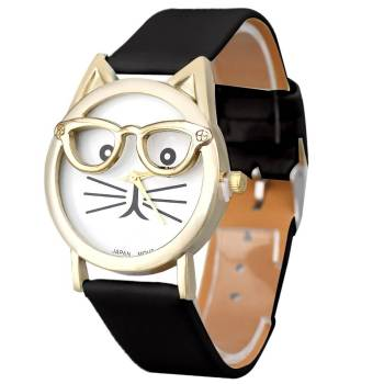 Cute Cat Watches For Pet Lovers Jewelry & Watches
