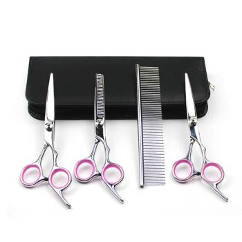 Professional Dog's Grooming Scissors Kit Dogs Grooming & Care