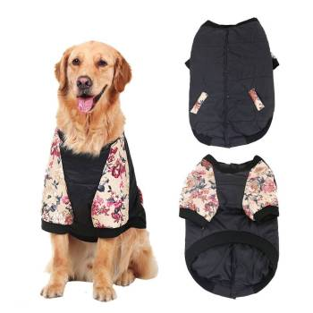 Dog's Floral Print Vest Clothing Dogs