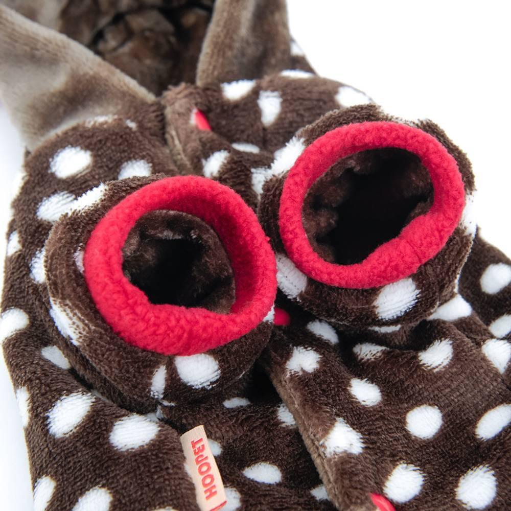 Cat's Christmas Deer Hoodie Pet Christmas Costume and Toy