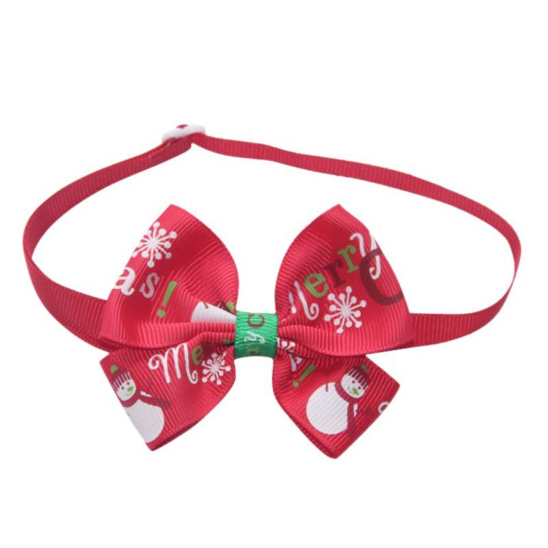 Christmas Dog Bowtie Pet Christmas Costume and Toy