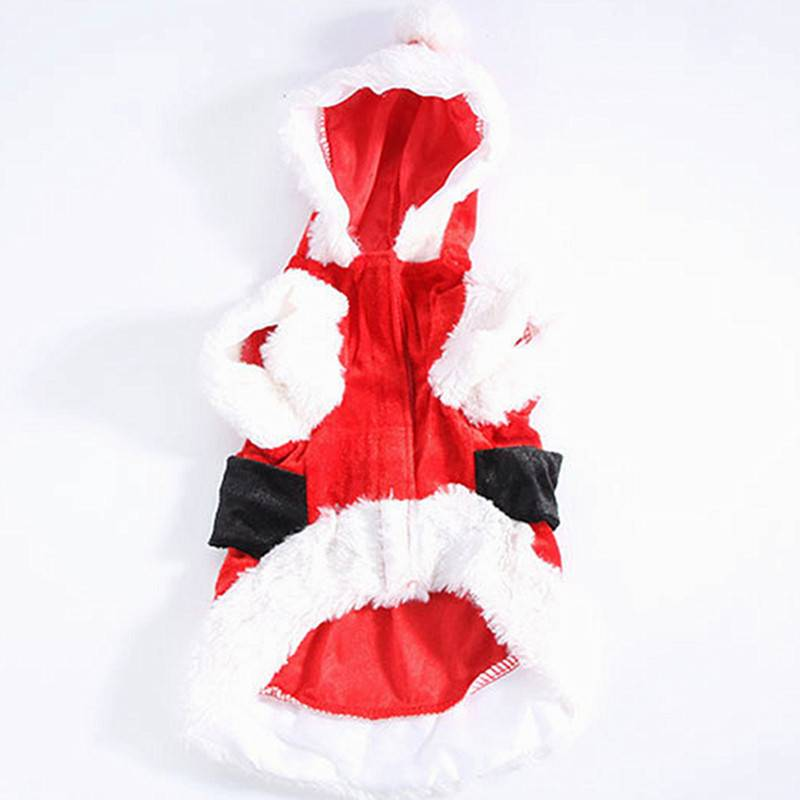 Santa Claus Dog's Christmas Costume Pet Christmas Costume and Toy