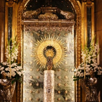 Virgen sin manto