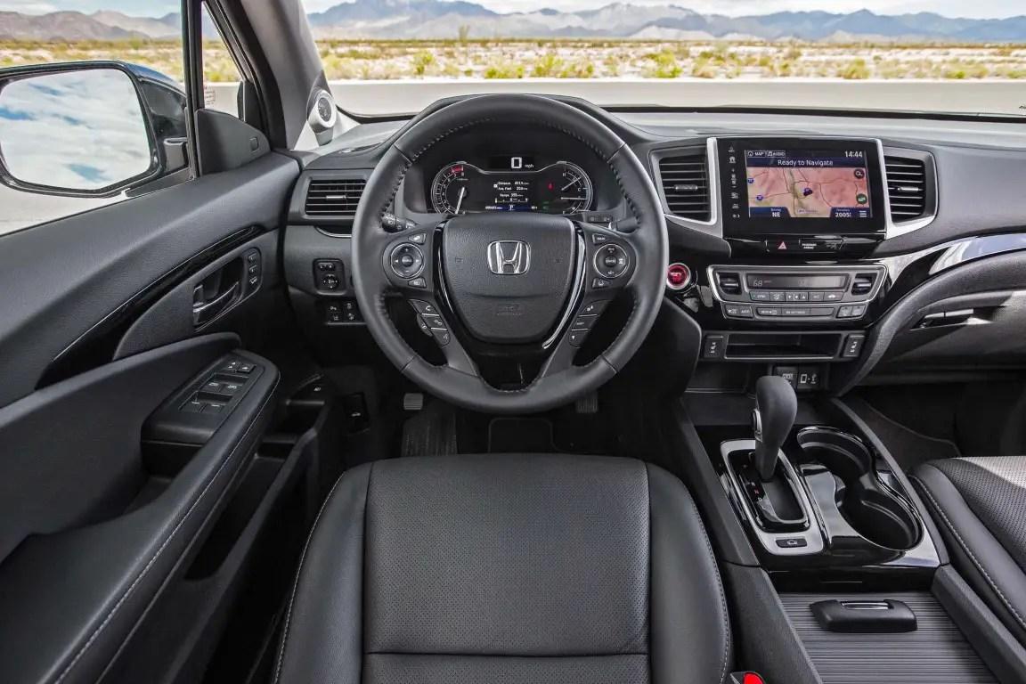 2020 Honda Ridgeline Interior Changes & Update Features