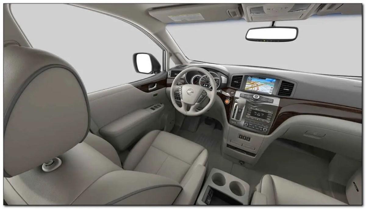 2020 Nissan Quest Interior Dashboard Feature Update
