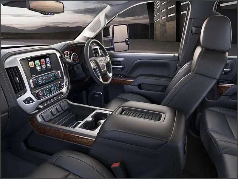 2020 GMC 3500HD Duramax Interior Updates