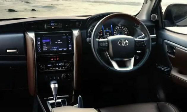 2020 Toyota Fortuner Interior Updates