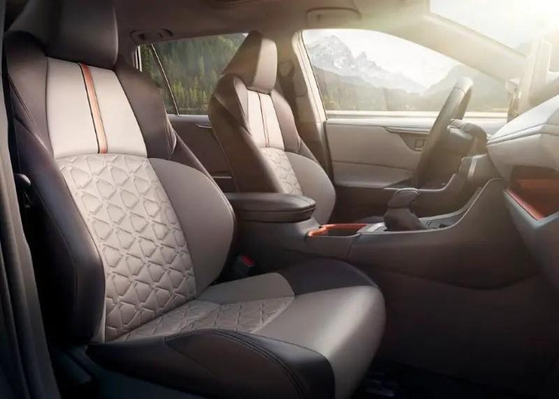 2020 Toyota RAV4 Interior Images