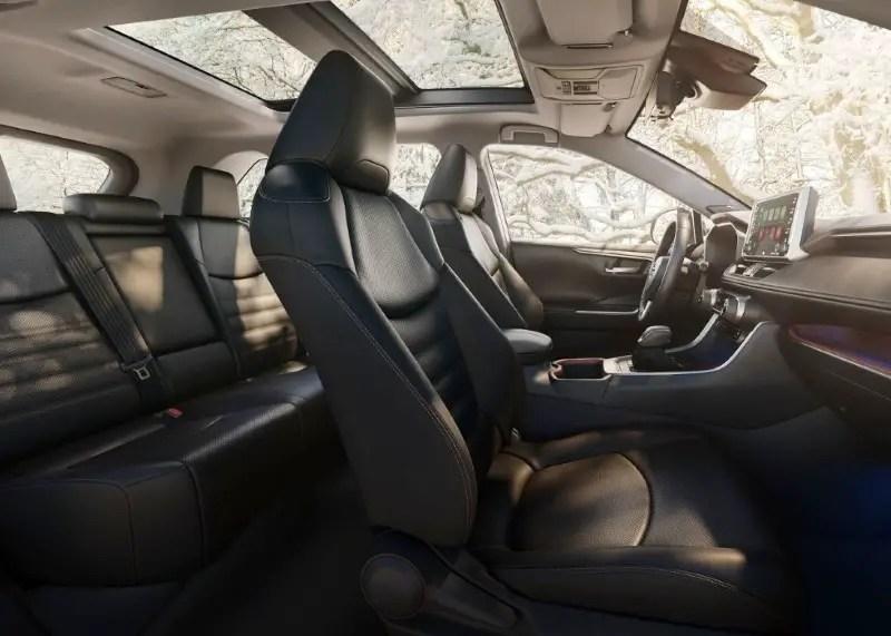 2020 Toyota RAV4 Seater Capacity