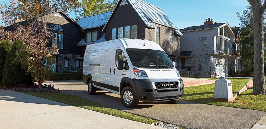 2020 RAM ProMaster Cargo Van 3500 High Roof Review