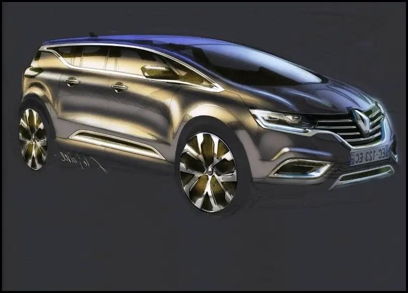 2020 Renault Espace Concept design & restyling