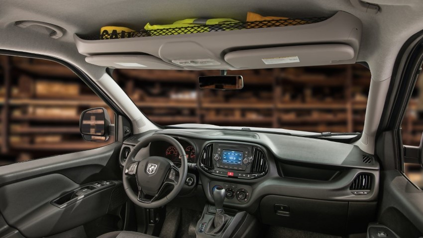 New RAM ProMaster City Interior Features