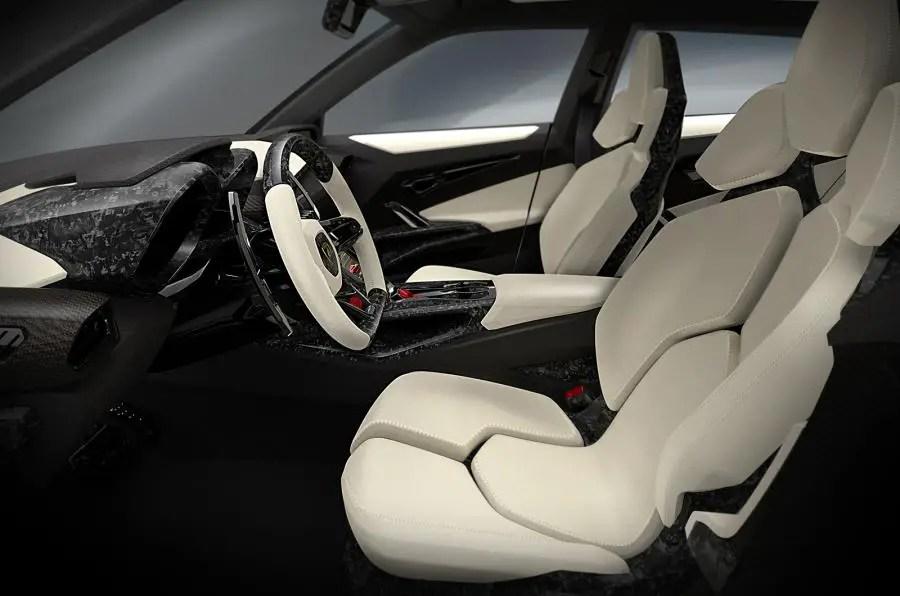 2020 Lamborghini Urus SUV Interior