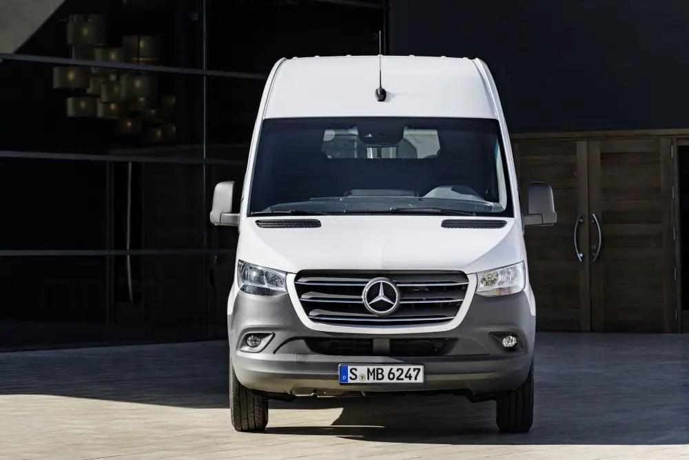 2020 Mercedes Sprinter Dimensions Van Cargo