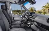 2020 Mercedes Sprinter Van Interior With Pro Connect