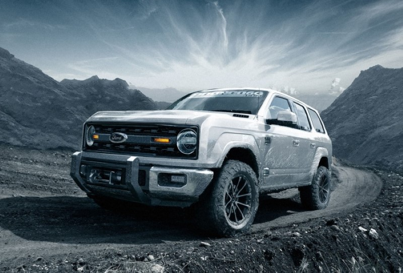 2020 Ford Bronco 4-Door Debut in Geneva Motor Show