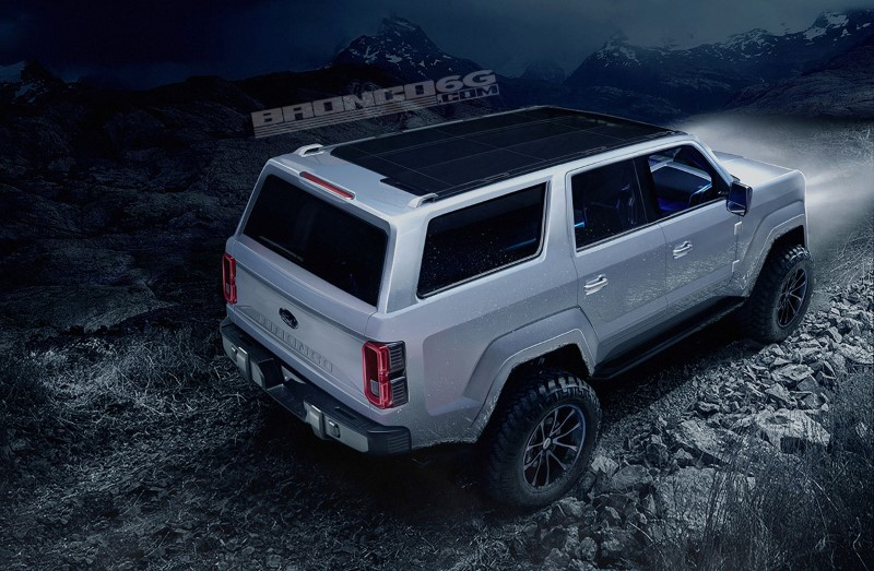 2020 Ford Bronco 4-Door Fact; is not Rumors Again
