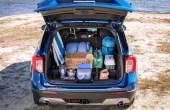 2020 Ford Explorer Trunk Capacity