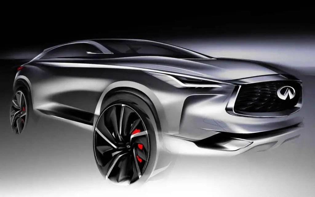 2020 Infiniti QX60 Redesign Exterior Concept