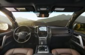 2020 Toyota Land Cruiser Prado Interior Black and Brown Colors