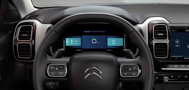 2020 Citroen C5 Aircross Hybrid Interior Instrument & Assist