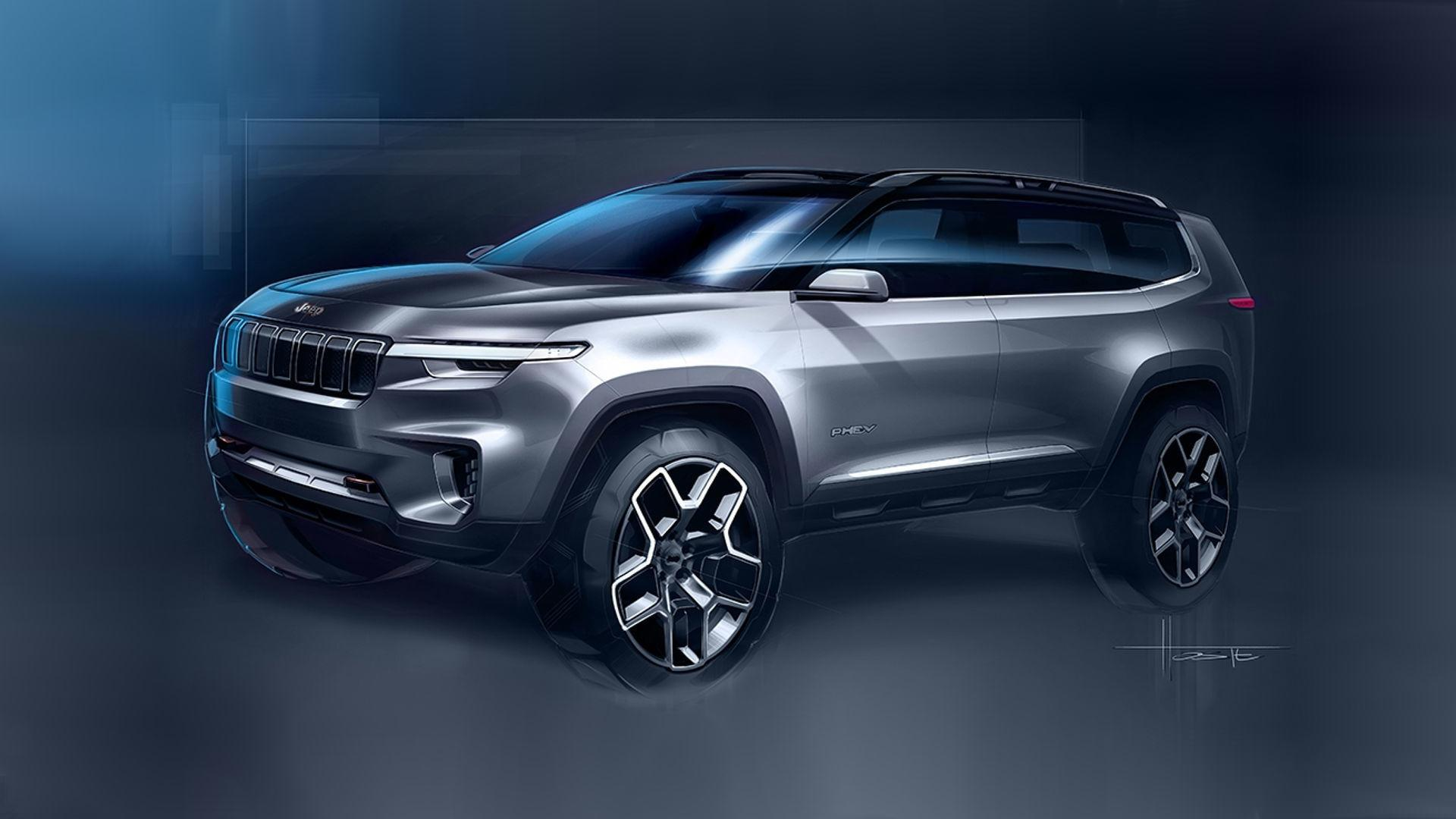 2020 Jeep Yuntu Concept SUV For next Generations