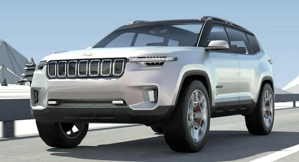 2020 Jeep Yuntu Dimensions